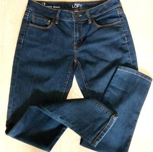 LOFT Jeans - LOFT Curvy Skinny Sz 2 Jeans